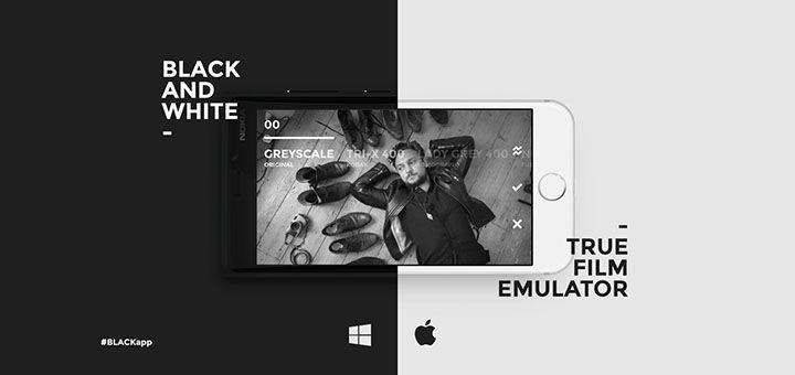 BLACK, filtros analógicos en B&N para tus fotos!